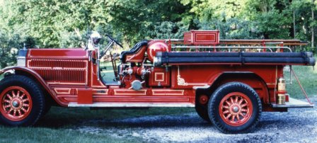 1928 American La France Fire Engine, 1000 gpm Pumper