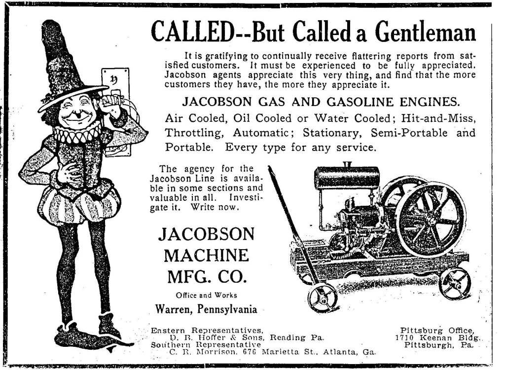 Jacobson Machine Manufacturing Company