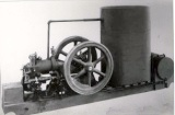Tank Cooled Skid-Mounted Engine, Approximately 4hp