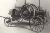 Engine on Cart, Approximately 14hp, Screen Cooled